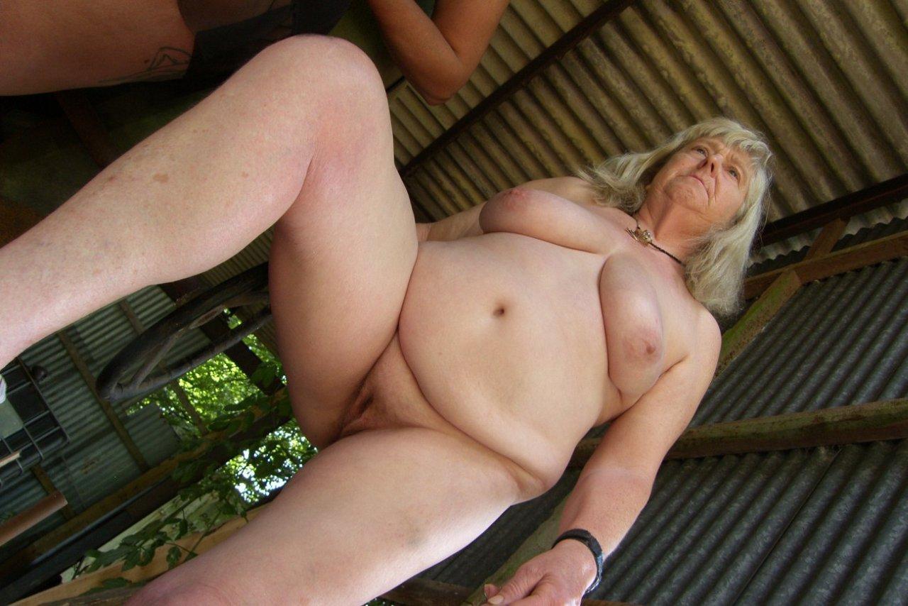 72 year old grandma craves big black cock 6